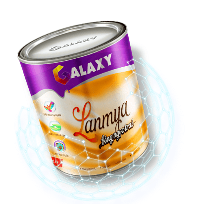 Sơn nội thất Galaxy Lanmya bóng ngọc trai sang trọng