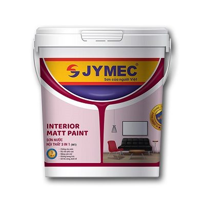 Sơn nước nội thất Jymec Interior Matt Paint 3IN1