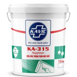 Sơn Kavic KA-315 siêu trắng trần nội thất cao cấp