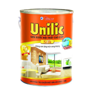 Sơn nước nội thất cao cấp Tison Unilic Silk