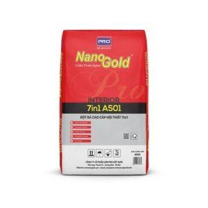 Bột bả cao cấp nội thất NanoGold 7in1 A501