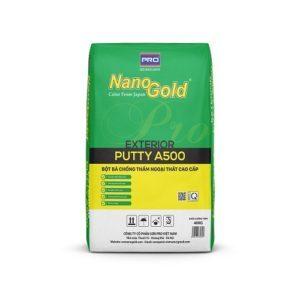 Bột bả chống thấm ngoại thất NanoGold Putty A500