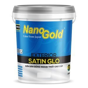 Sơn bán bóng ngoại thất NanoGold Exterior Satin Glo A915