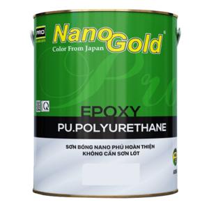 Sơn bóng NanoGold Epoxy Pu.polyurethane A986