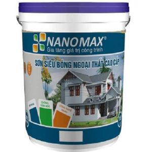 Sơn bóng ngoại thất cao cấp Nanomax