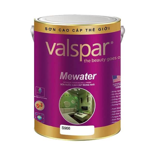 Sơn bóng nội thất cao cấp Valspar Mewater