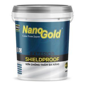 Sơn chống thấm đa năng NanoGold Exterior ShieldProof A954