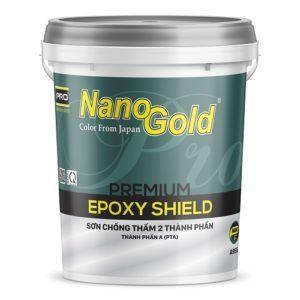 Sơn chống thấm hai thành phần NanoGold Epoxy Shield A955