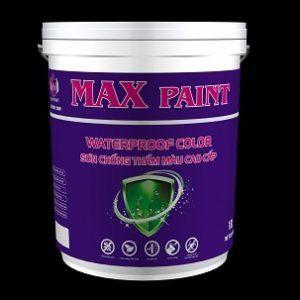 Sơn chống thấm màu cao cấp Max Waterproof Color