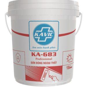 Sơn Kavic KA–683 bóng bề mặt ngoại thất cao cấp