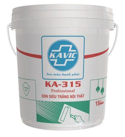 Sơn Kavic KA-315 siêu trắng trần nội thất cao cấp 1️⃣VN