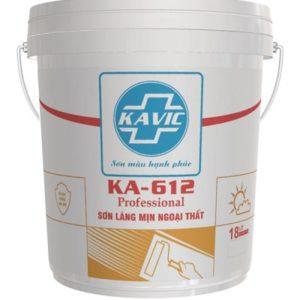 Sơn Kavic KA–612 láng mịn bề mặt ngoại thất