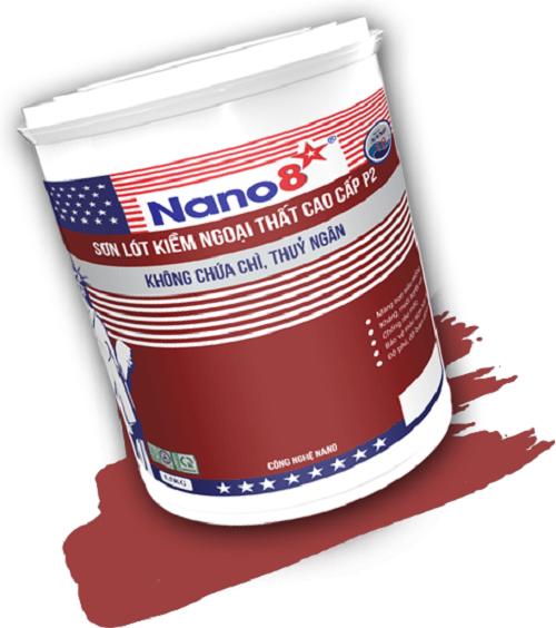 Sơn lót kiềm ngoại thất cao cấp Nano 8 P2