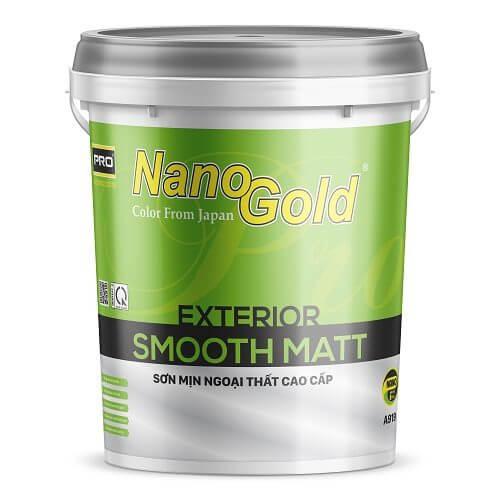 NanoGold Exterior Smooth Matt A919