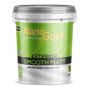 Sơn mịn ngoại thất NanoGold Exterior Smooth Matt A919