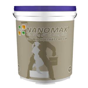Sơn mịn nội thất cao cấp Nanomax