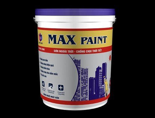Sơn ngoài trời chống chịu thời tiết Max Paint
