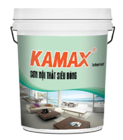 Sơn nội thất siêu bóng Kamax Interior 1️⃣ chính hãng