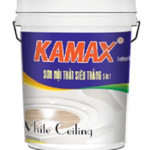 Sơn nội thất siêu trắng Kamax White Ceiling 5in1
