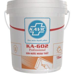 Sơn nước ngoại thất Kavic KA-602 1️⃣ giá cả ưu đãi