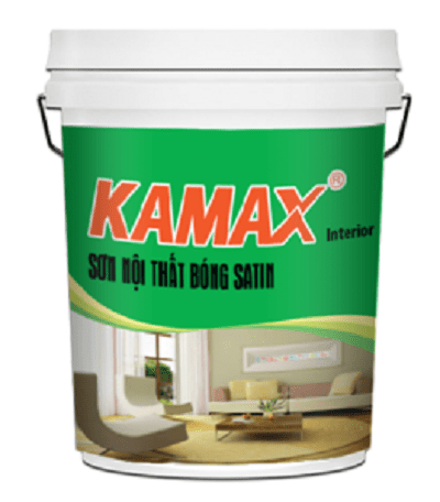 Sơn nước nội thất bóng Kamax Satin