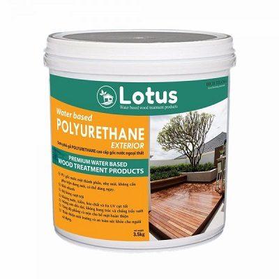 Sơn phủ gỗ hoàn thiện Lotus Polyurethane Exterior
