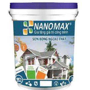 Sơn siêu bóng ngoại thất cao cấp Nanomax