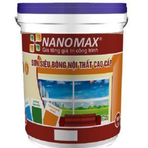 Sơn siêu bóng nội thất cao cấp Nanomax