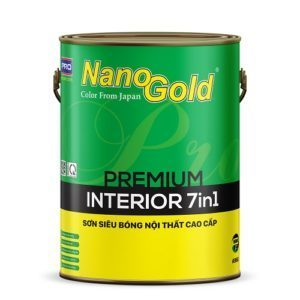 Sơn siêu bóng nội thất NanoGold Interior 7in1 A966
