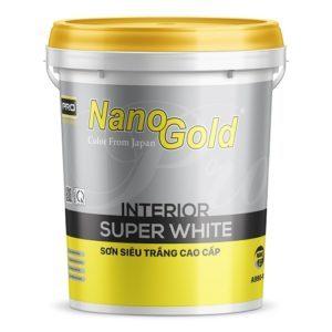 Sơn siêu trắng NanoGold Interior Supper White A990W