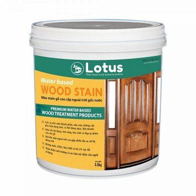 Sơn tạo màu gỗ Lotus Water Based Stain