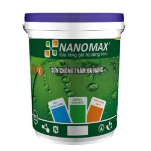 Sơn chống thấm màu đa năng Nanomax