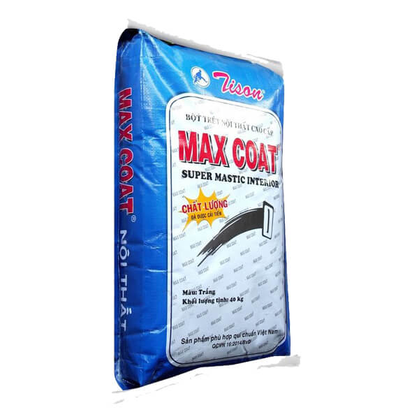 Bột trét nội thất cao cấp Tison Max Coat
