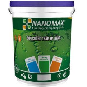 Sơn chống thấm pha xi măng Nanomax