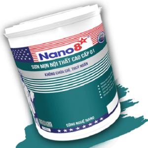 Sơn mịn nội thất cao cấp Nano 8 G1