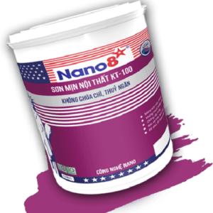 Sơn mịn nội thất Nano 8 KT-100