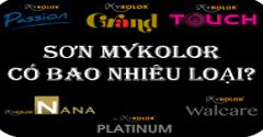 Sơn Mykolor có bao nhiêu loại trên thị trường