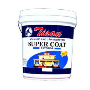 Sơn nước cao cấp ngoài trời Tison Super Coat Exterior