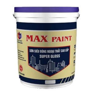 Sơn bóng clear ngoại thất Max Paint