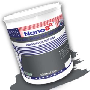 Sơn siêu trắng nội thất Nano 8 ST88