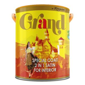Sơn nước nội thất Mykolor Grand Special Coat 2 in 1 Satin For Interior 1️⃣