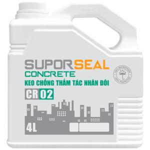 Keo chống thấm tác nhân đôi Suporseal Concrete CR02 chính hãng 1️⃣VN