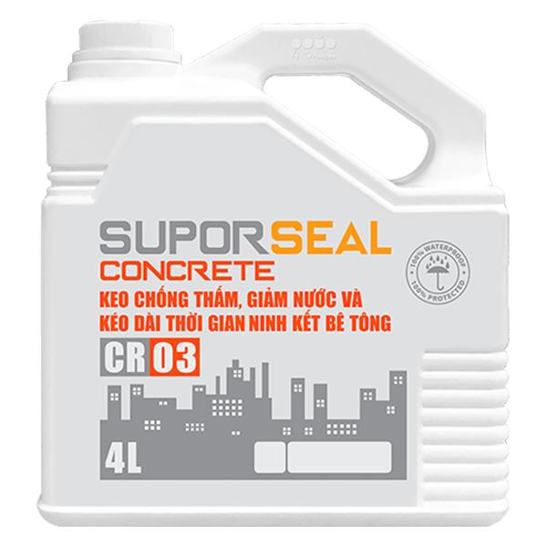 Keo chống thấm giảm nước Suporseal Concrete CR03 chính hãng 1️⃣VN