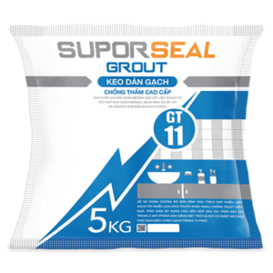 Keo dán gạch chống thấm cao cấp Suporseal Grout GT11 1️⃣VN