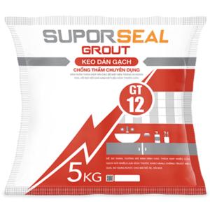 Keo dán gạch chống thấm chuyên dụng Suporseal Grout GT12 1️⃣VN