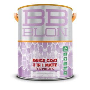 SƠn nội thất đa năng BB Blon Quick Coat 2in1 Matte For Interior