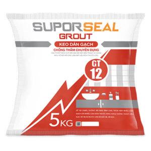 Keo dán gạch chống thấm chuyên dụng Suporseal Grout GT12