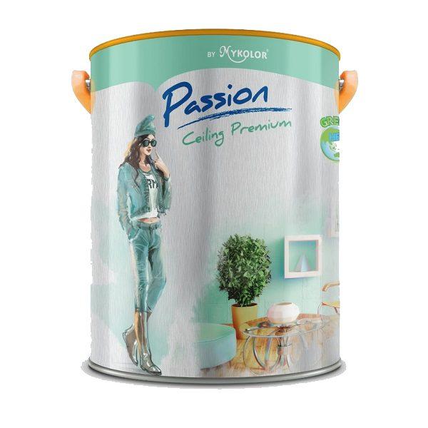 Sơn trắng trần Mykolor Passion Ceiling Premium cao cấp chính hãng 1️⃣VN