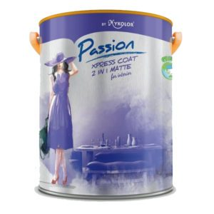 Sơn nội thất đa năng Mykolor Passion Xpress Coat 2in1 Matte For Int 1️⃣