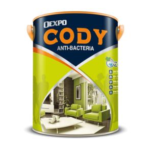 Sơn nội thất kháng khuẩn không mùi Oexpo Cody Anti-Bacteria